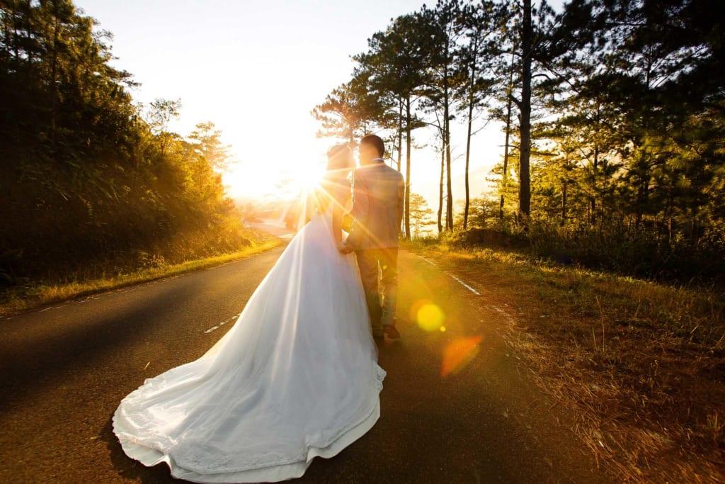 phong cách quay video cưới