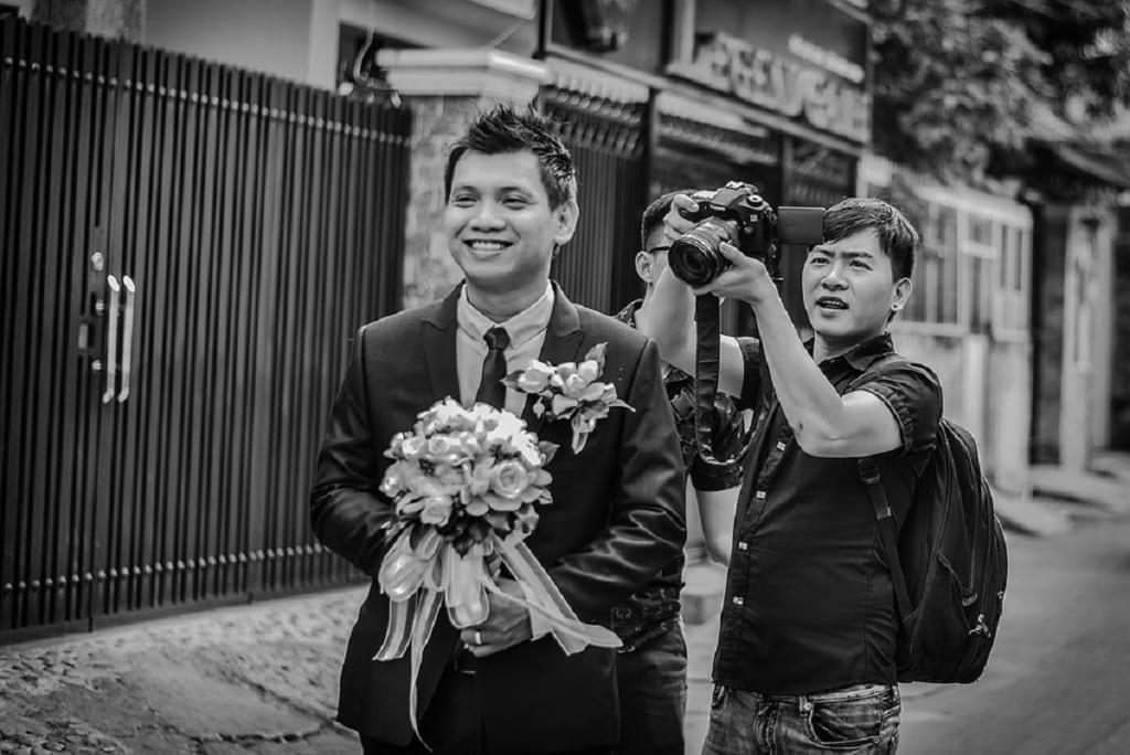 ý tượng quay video cưới