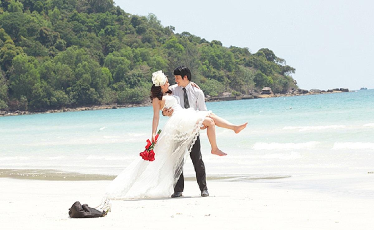 chụp hình cưới ở phú quốc đẹp
