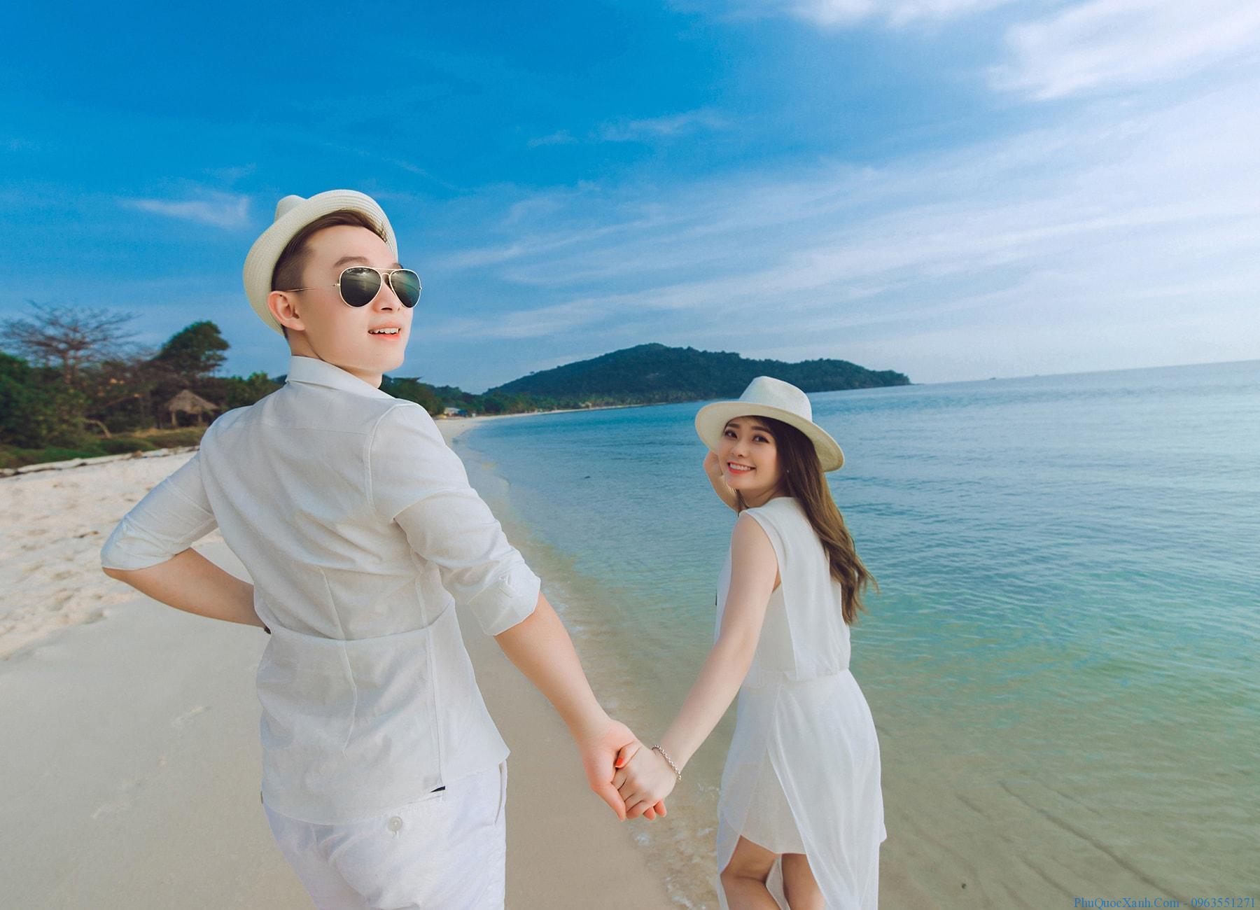 Nên chụp ảnh cưới ở biển nào