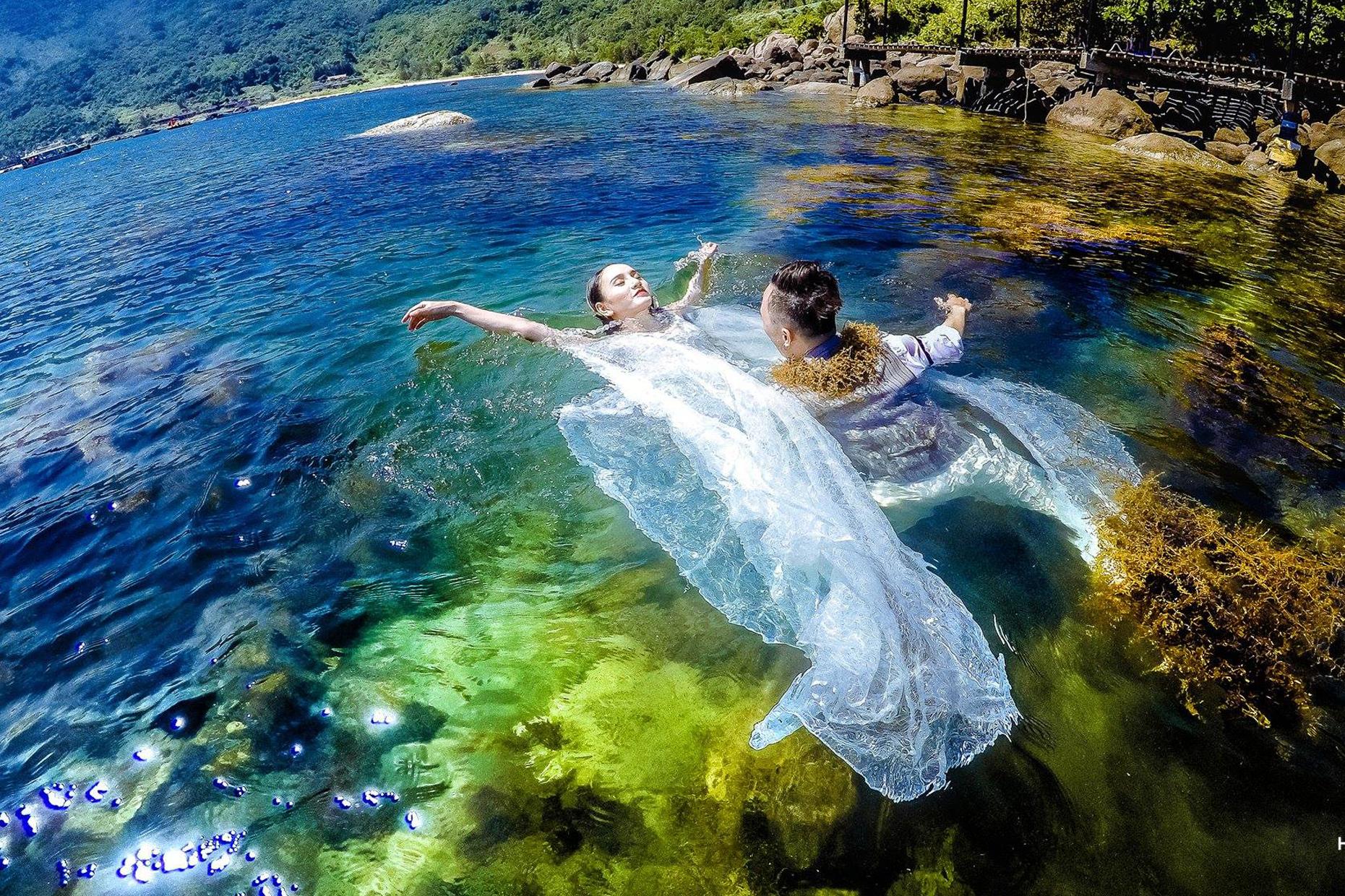 Concept chụp hình cưới ở biển