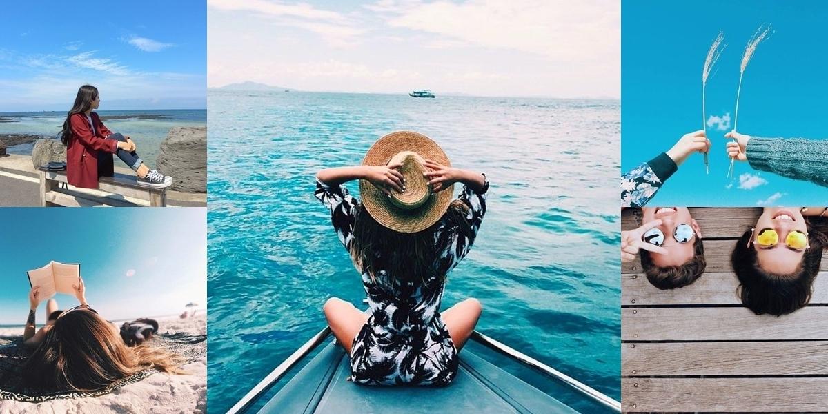 phụ kiện chụp ảnh ở biển