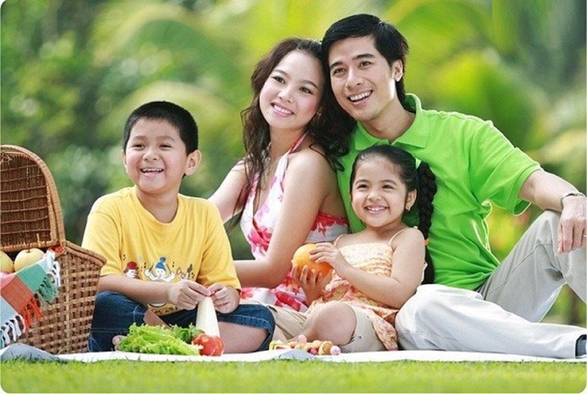 cách tạo dáng chụp ảnh gia đình