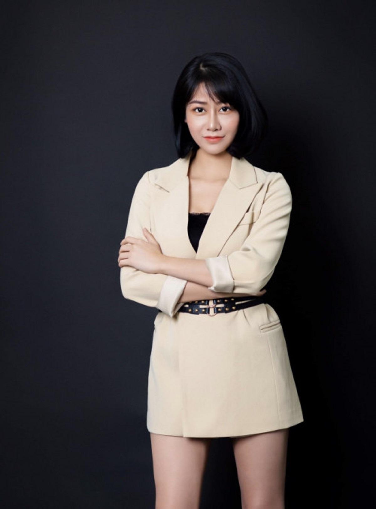 studio chụp hình nữ doanh nhân