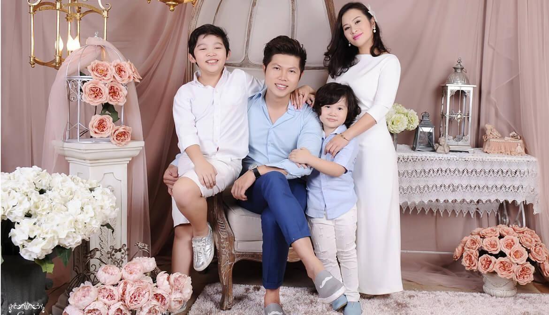 cách chụp ảnh gia đình 4 người