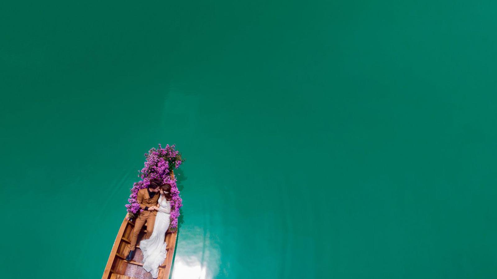 Chụp hình cưới tại Hồ Đá Xanh Vũng Tàu