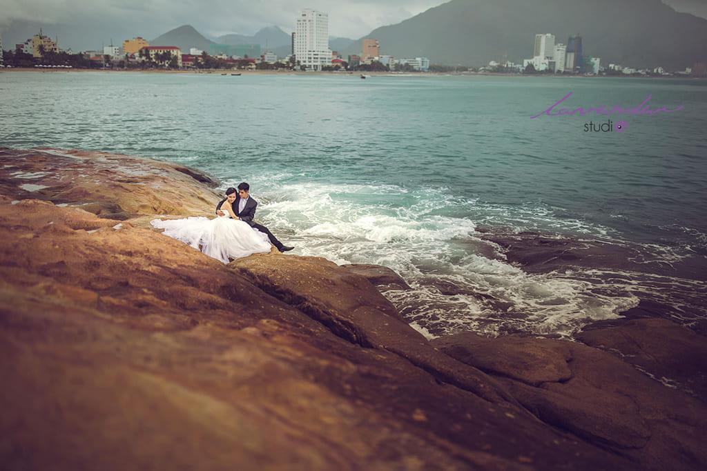 Chụp hình cưới tại biển Nha Trang