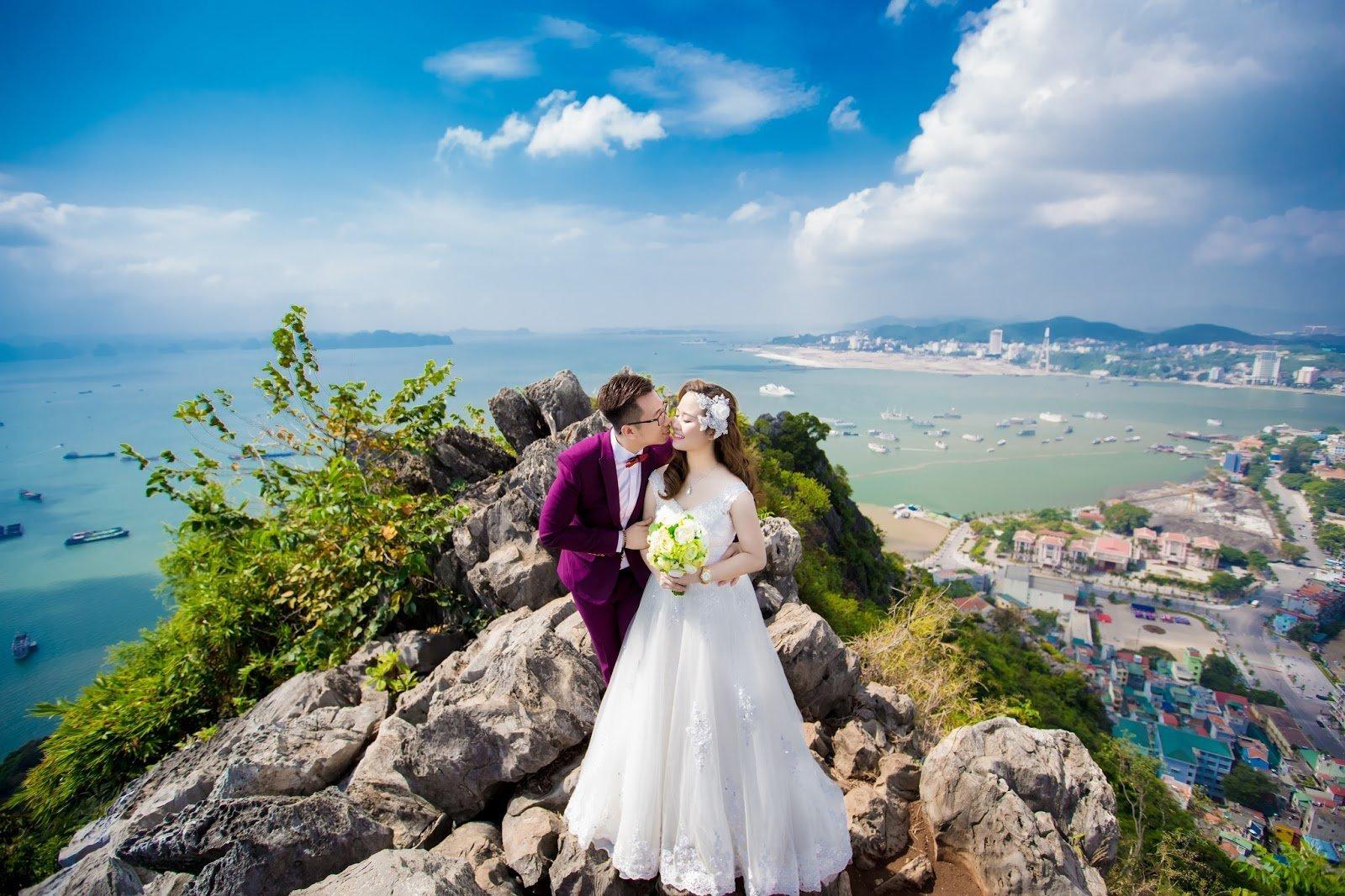 Chụp hình cưới tại Quảng Ninh
