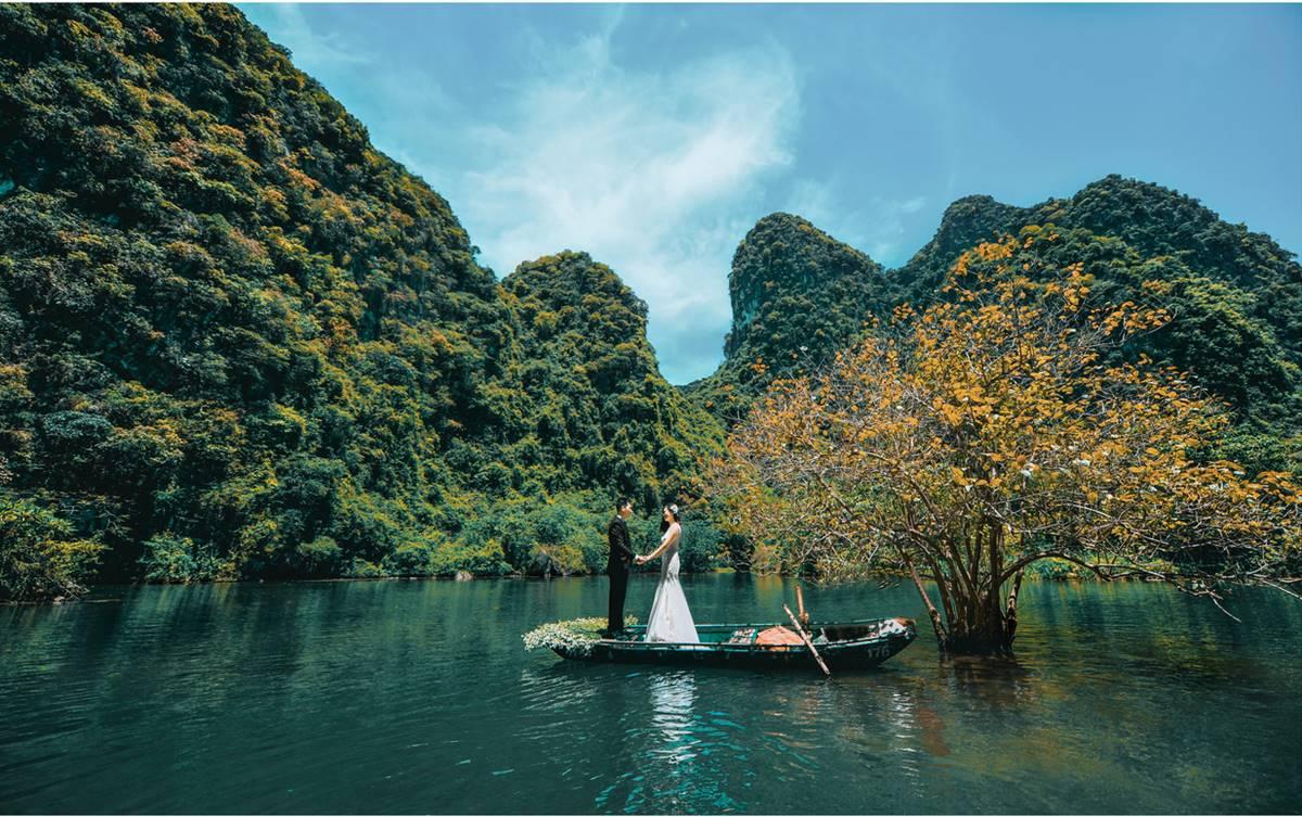 Chụp hình cưới tại miền Bắc