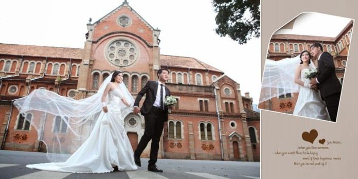 Những điểm chụp hình cưới nổi tiếng Sài Gòn