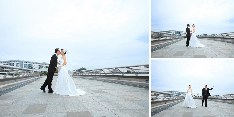 Chụp ảnh cưới tại Cầu Ánh Sao