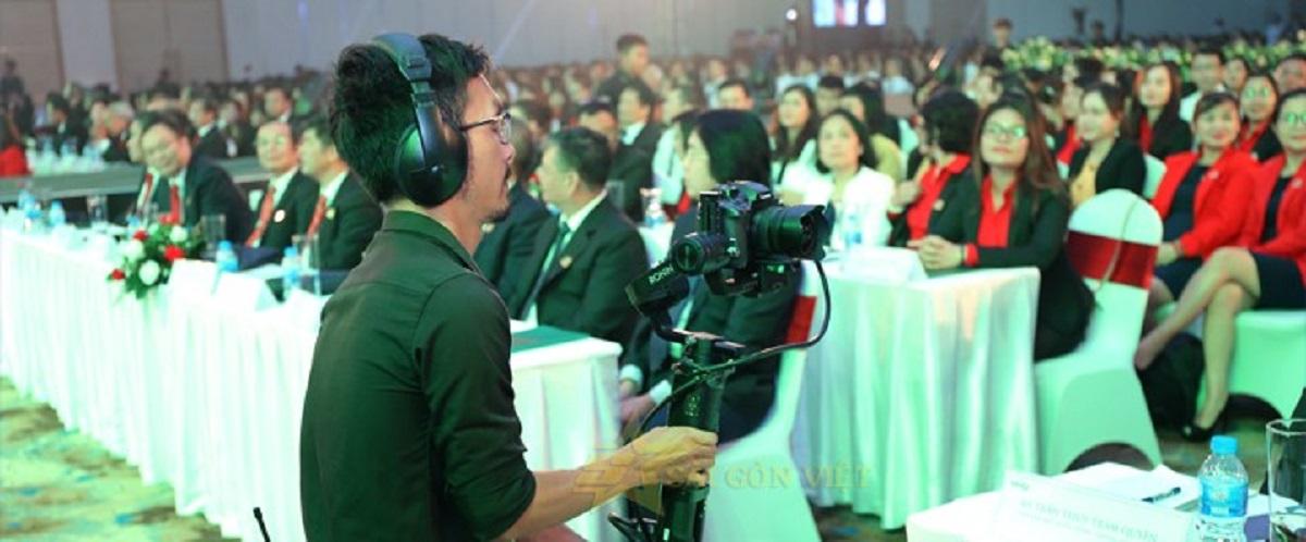 Dịch vụ quay phim sự kiện chất lượng