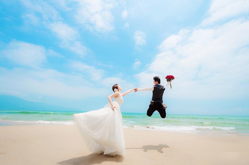 Dịch vụ chụp hình cưới ngoại cảnh Đà Nẵng giá rẻ