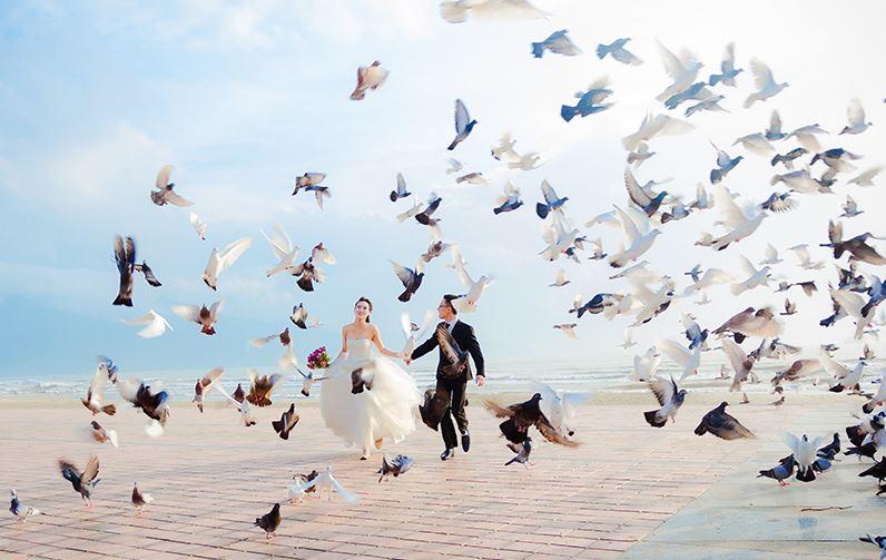 Địa chỉ chụp hình cưới ngoại cảnh Đà Nẵng đẹp