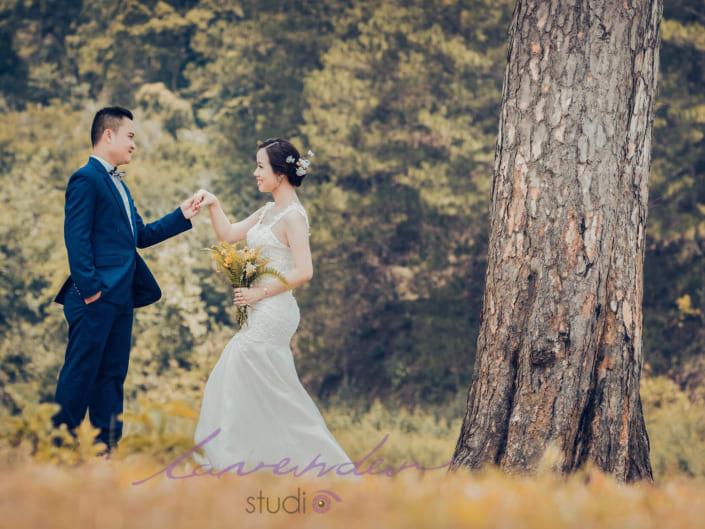 Các địa điểm chụp hình cưới Đà Lạt đẹp lung linh