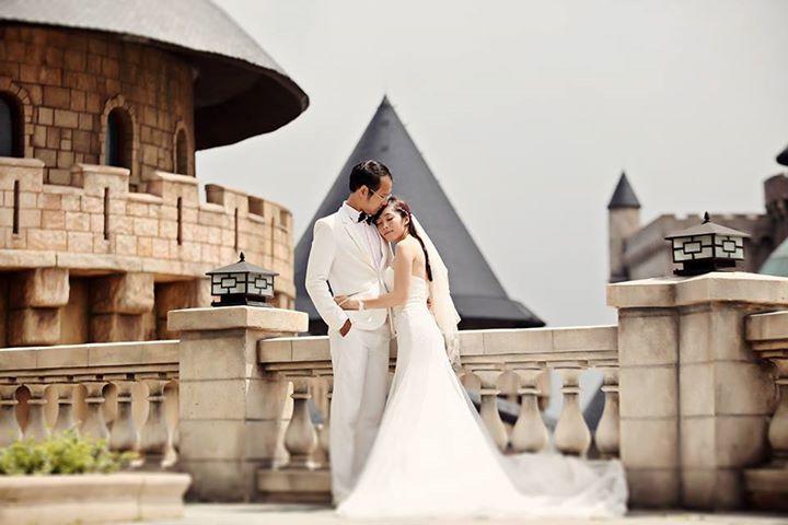 Chụp ảnh cưới đẹp tại Bà Nà Hill