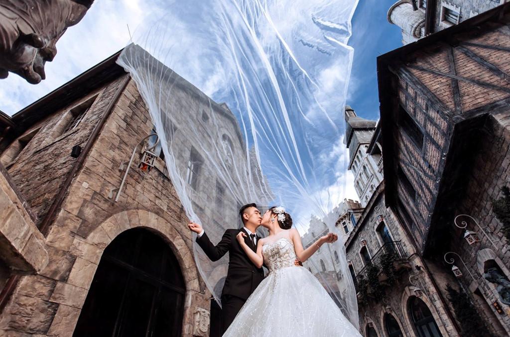 Du lịch kết hợp chụp hình cưới Đà Nẵng sanh chảnh