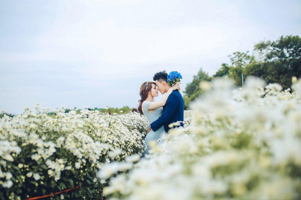 Du lịch kết hợp chụp hình cưới Hà Nội chưa bao giờ hết hot