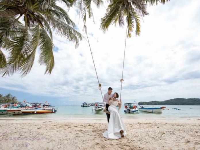 Du lịch kết hợp chụp hình cưới Phú Quốc