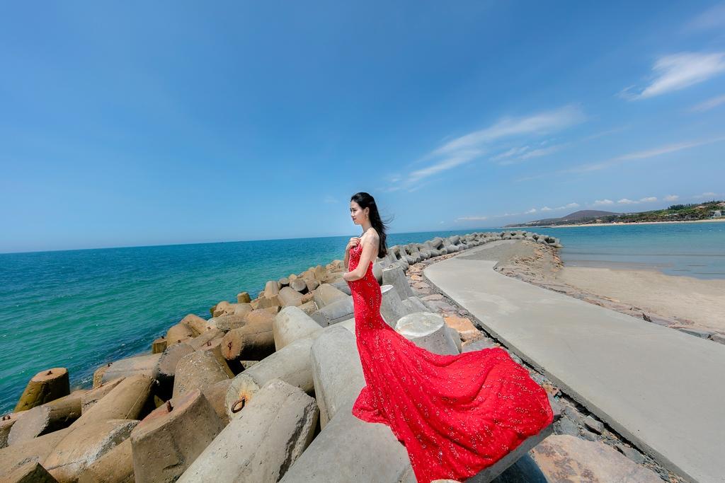 Du lịch kết hợp chụp hình cưới Vĩnh Hy Phú Yên đẹp, giá rẻ