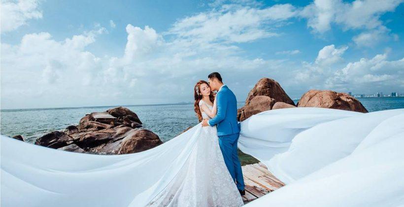 Du lịch kết hợp chụp hình cưới Vĩnh Hy Phú Yên ở Mũi Dinh