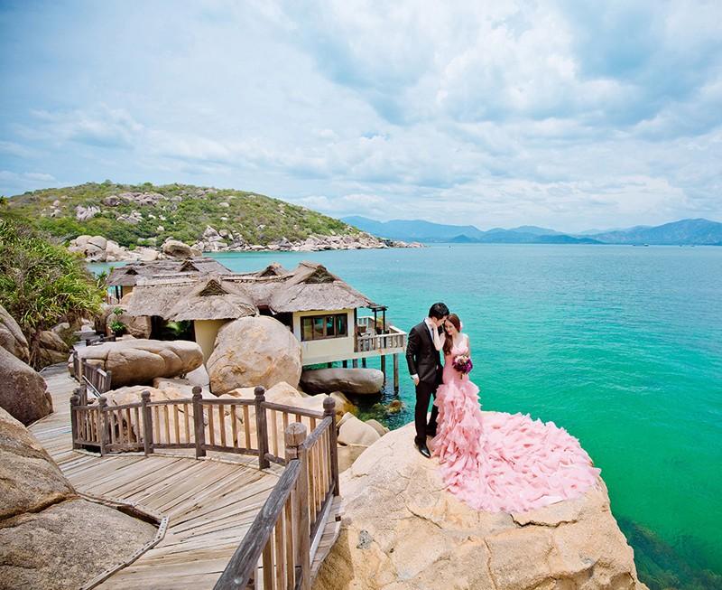 Du lịch kết hợp chụp hình cưới Nha Trang nhiều lợi ích