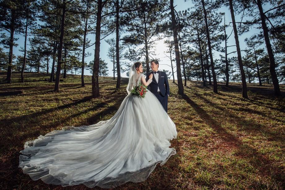 review studio chụp hình cưới Đà Lạt đẹp