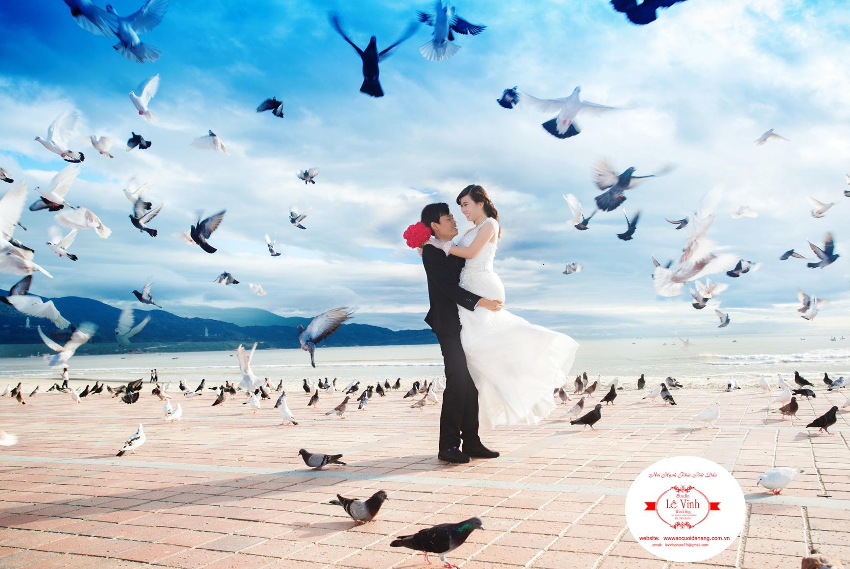 Studio chụp ảnh cưới đẹp Đà Nẵng Lê Vinh