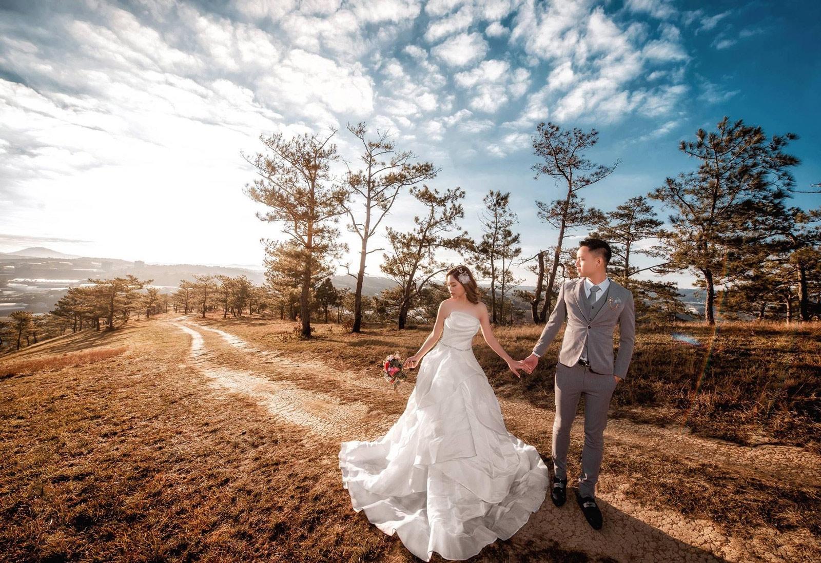Chụp hình cưới đa dạng phong cách