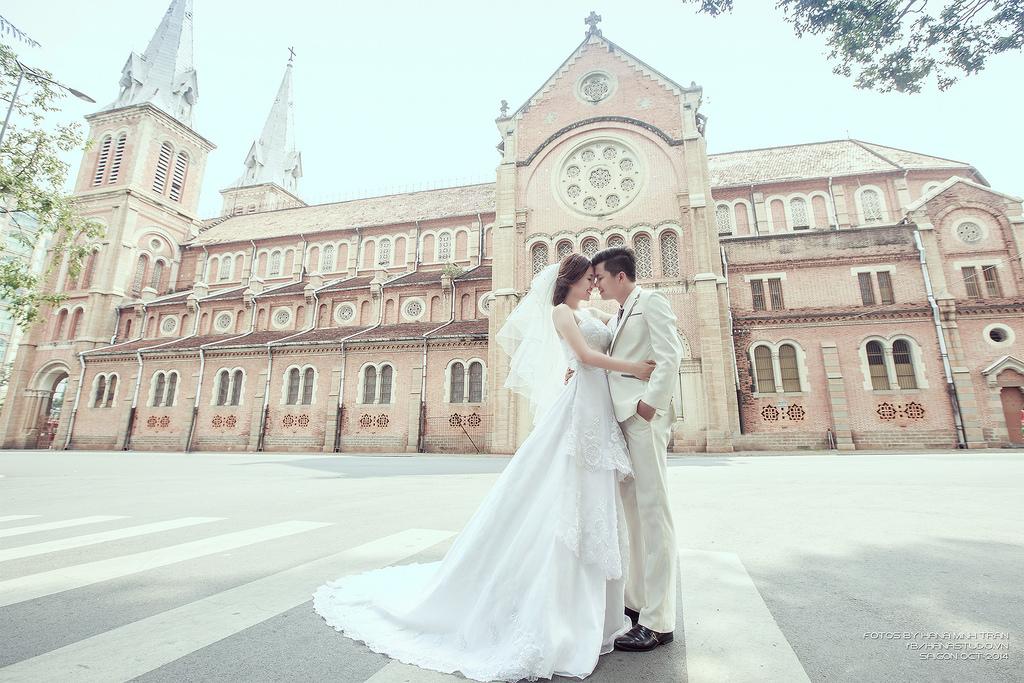địa điểm chụp hình cưới đẹp tại TPHCM