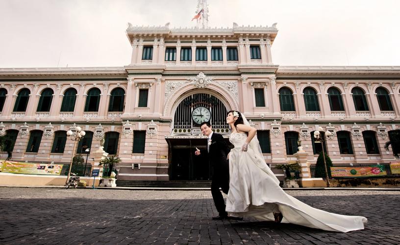 Bảng giá chụp ảnh cưới ngoại cảnh hiện nay