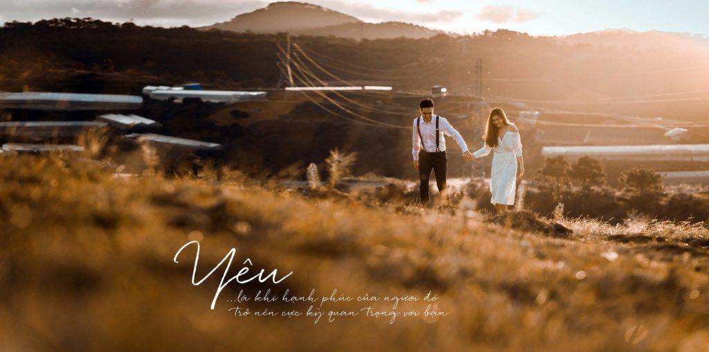 Chụp hình cưới Đà Lạt cực đẹp mắt