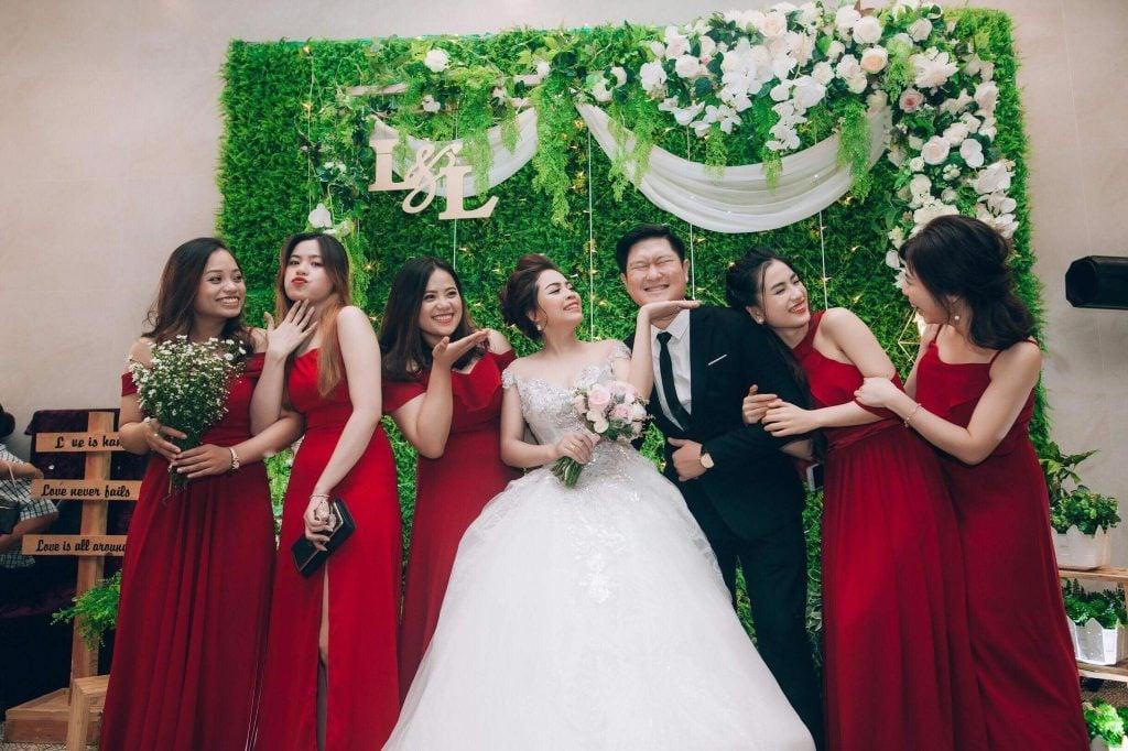 Góc chụp hình phóng sự cưới mới mẻ hơn