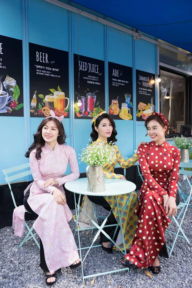 Chụp ảnh đẹp áo dài phong cách Cô Ba Sài Gòn