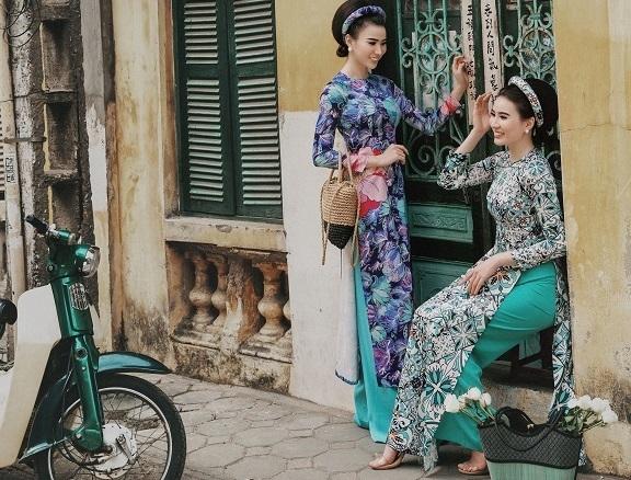 Chụp ảnh tết với phong cách Cô Ba Sài Gòn