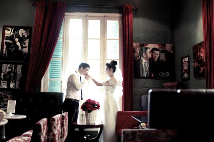 [Bật mí] Quán cafe chụp ảnh cưới đẹp nhất ở Hà Nội