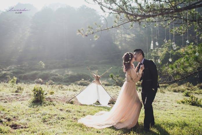 Các tip chọn studio chụp ảnh cưới đẹp ở Đà Lạt nhất định bạn phải biết!