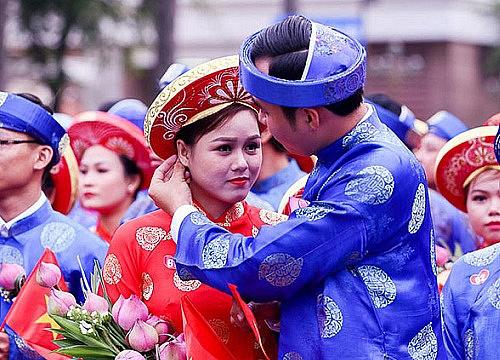 tổ chức đám cưới sau tết nên hay không