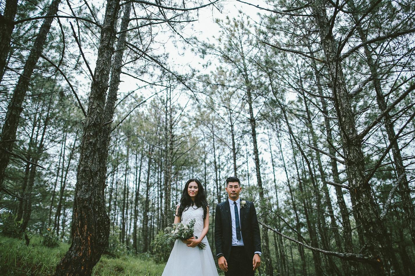 Bảng giá chụp hình cưới Đà Lạt bắt mắt