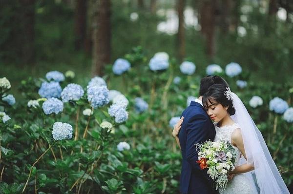 Chụp hình cưới Đà Lạt đẹp