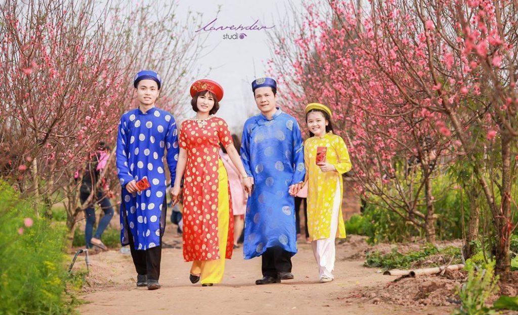 album chụp hình tết gia đình đẹp