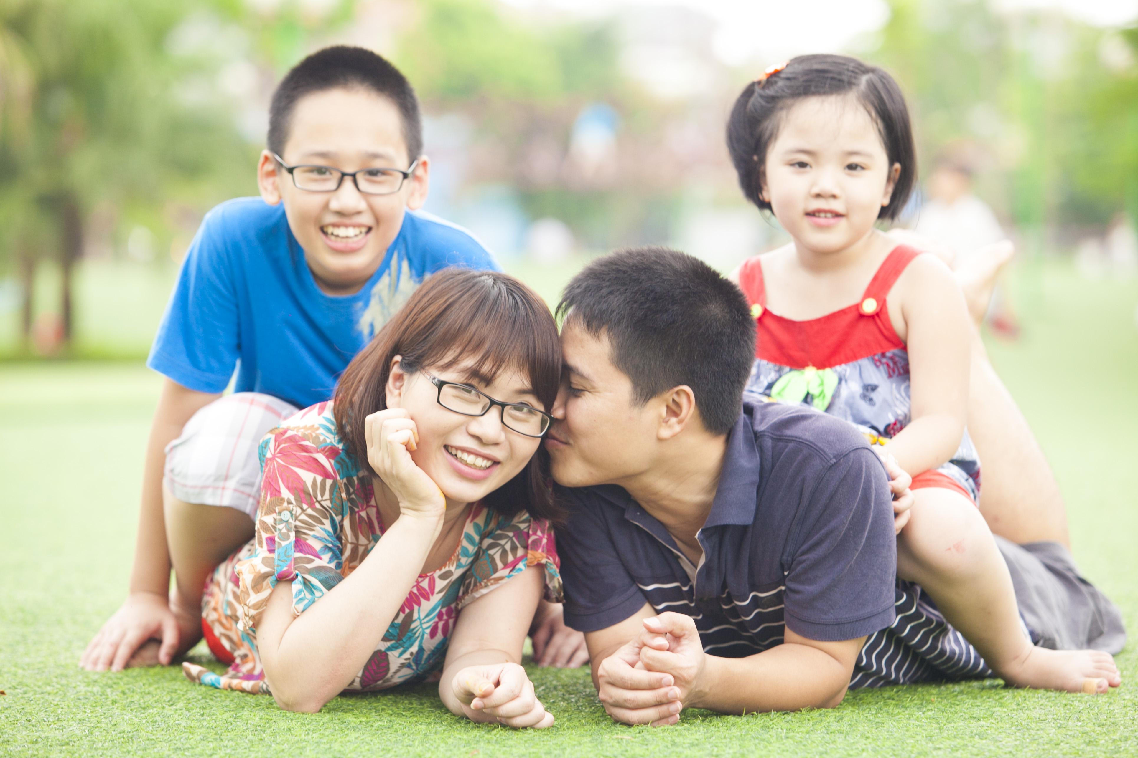 Ý tưởng chụp hình tết gia đình