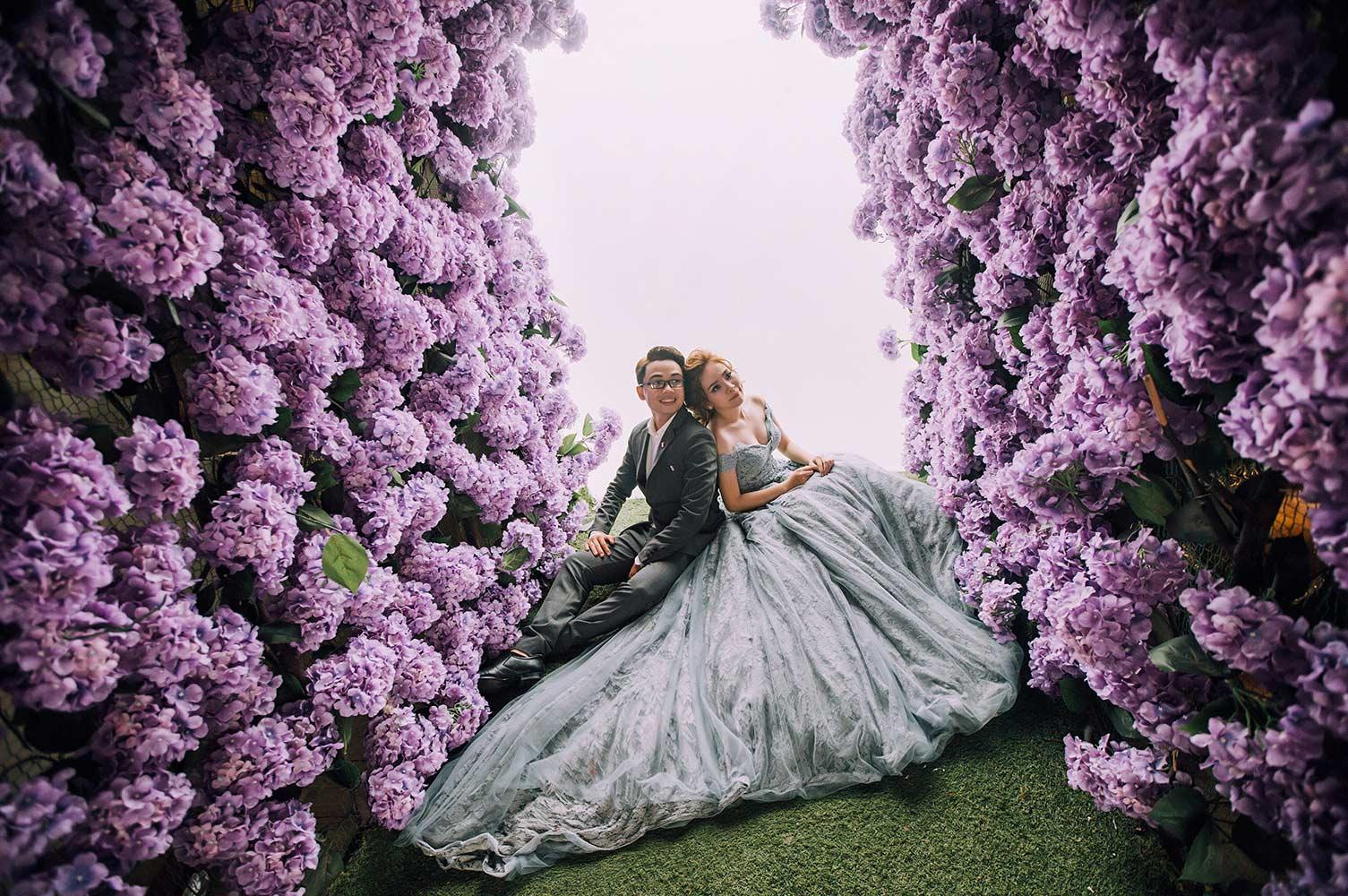 Phim trường chụp ảnh cưới đẹp mê hồn