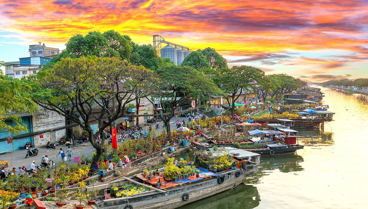 Top địa điểm chụp hình dịp Tết 2021 ở Sài Gòn