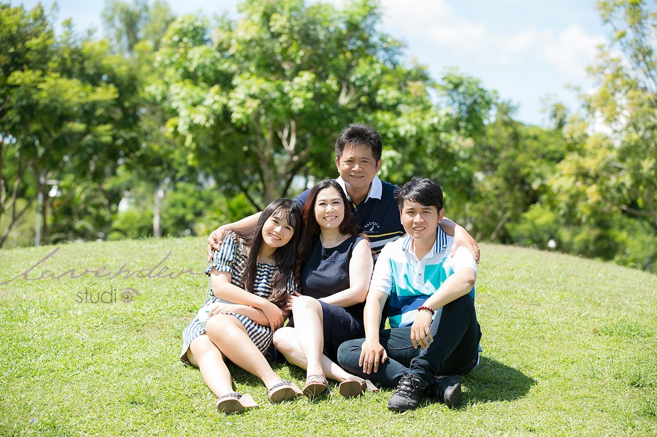 chụp ảnh gia đình ngoại cảnh ở HCM