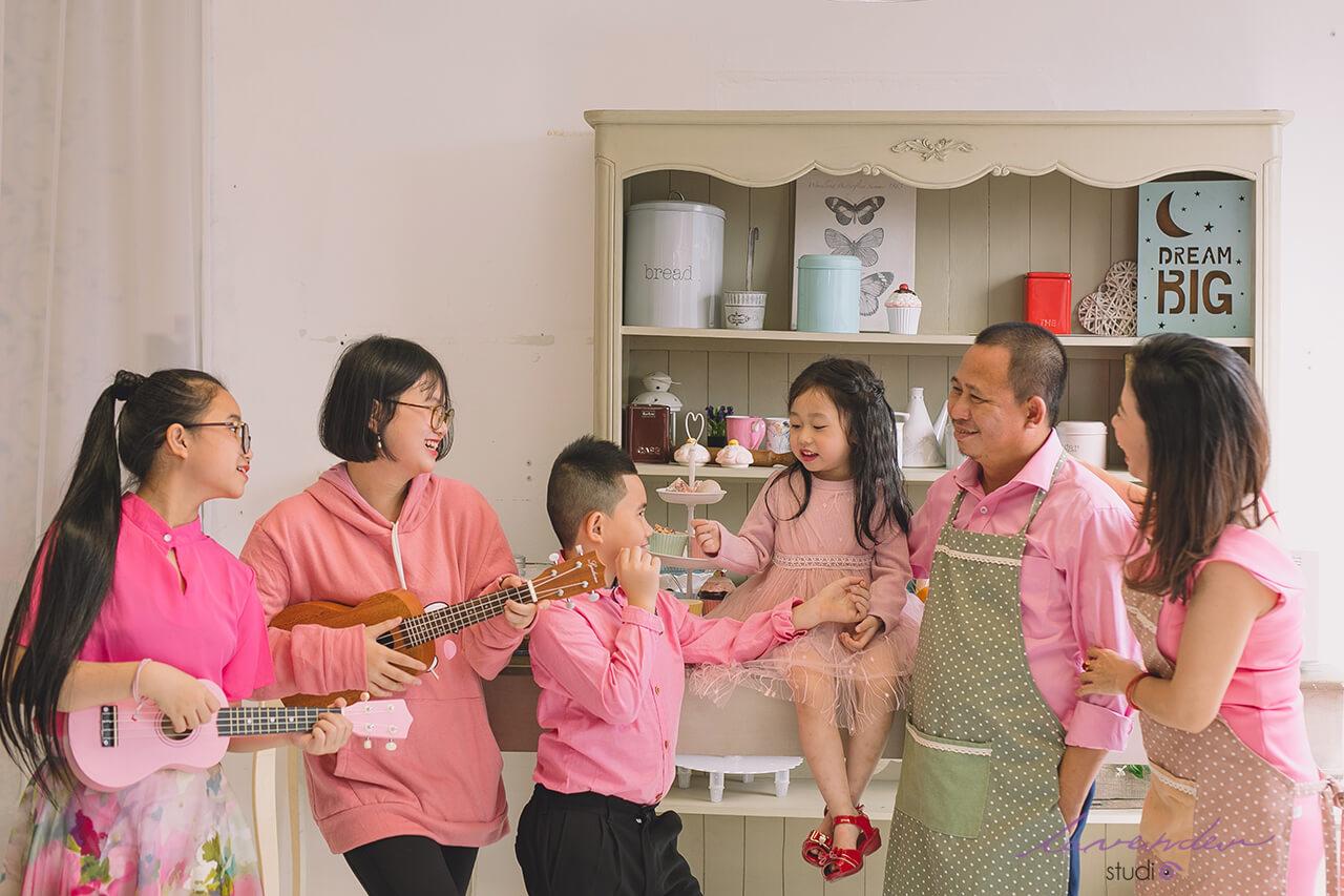 studio ảnh đẹp gia đình ở Sài gòn